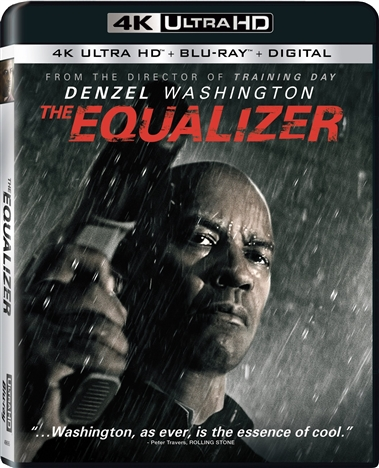 The Equalizer 4K (2014) Ultra HD Blu-ray