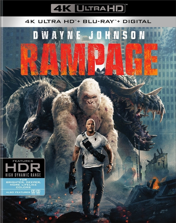 Rampage 4K (2018) Ultra HD Blu-ray