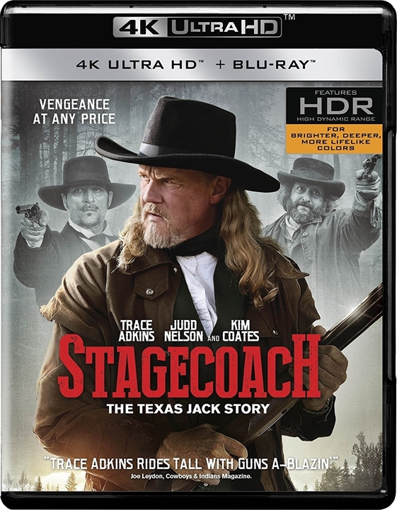 Stagecoach: The Texas Jack Story 4K (2016) Ultra HD Blu-ray