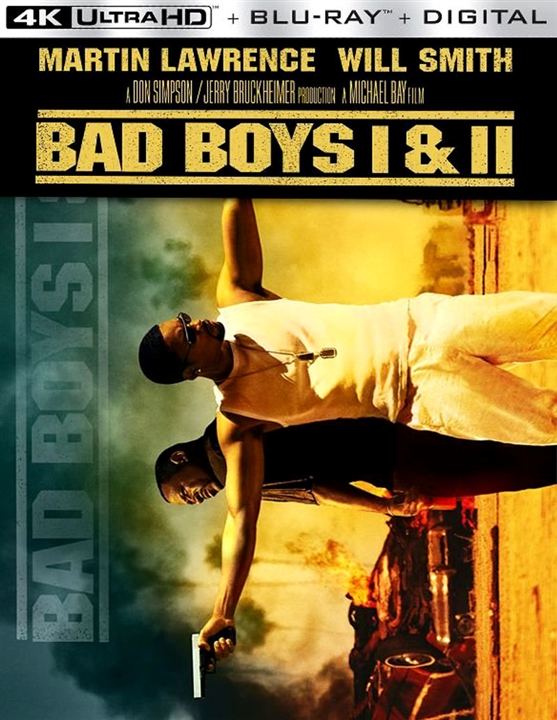 Bad Boys 1 & 2 Collection 4K (1995-2003) 4K Ultra HD Blu-ray