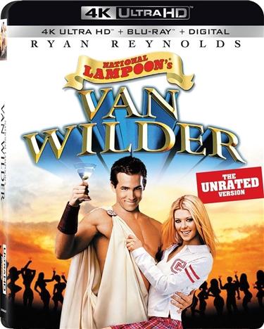 National Lampoons Van Wilder 4K (2002) 4K Ultra HD Blu-ray