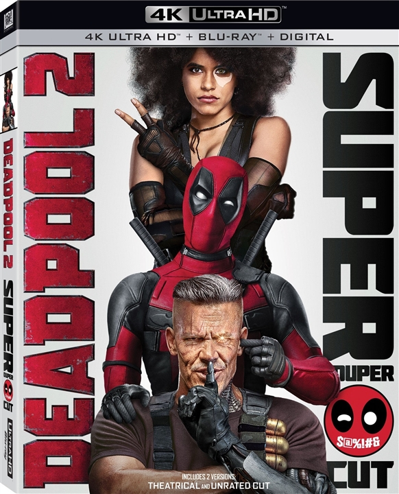 Deadpool 2 4K (2018) Ultra HD Blu-ray