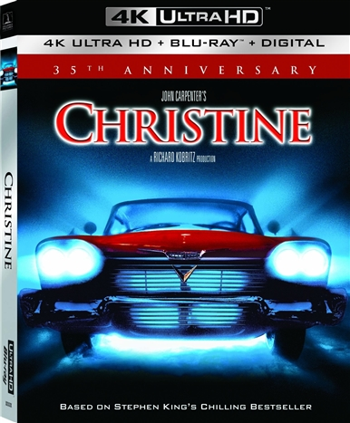 Christine (35th Anniversary) 4K (1983) Ultra HD Blu-ray