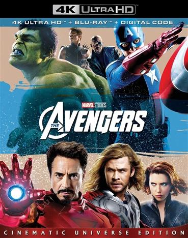 The Avengers 4K (2012) Ultra HD Blu-ray