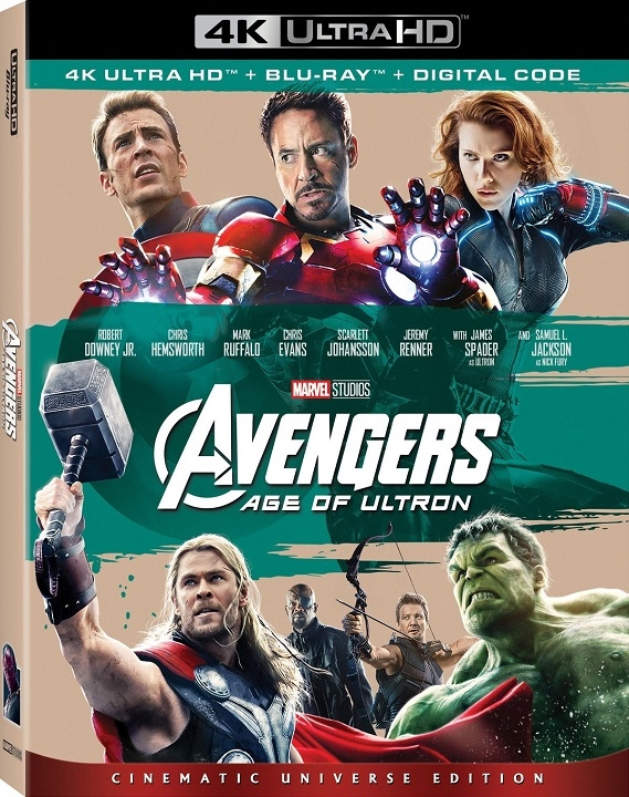 Avengers: Age of Ultron 4K (2015) Ultra HD Blu-ray