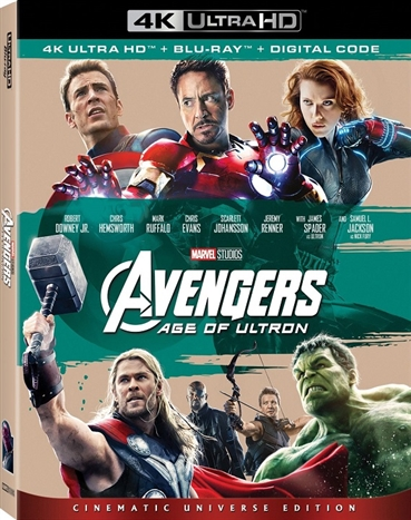 Avengers: Age of Ultron 4K (2015) Ultra HD Blu-ray
