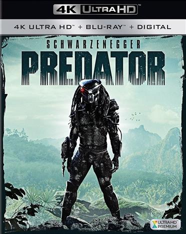 Predator 4K (1987) Ultra HD Blu-ray