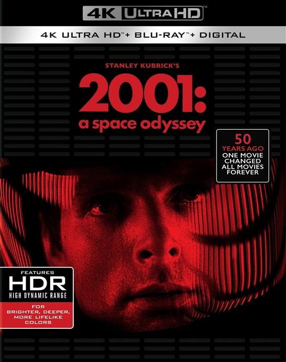 2001: A Space Odyssey 4K (1968) Ultra HD Blu-ray