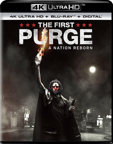 The First Purge 4K (2018) Ultra HD Blu-ray