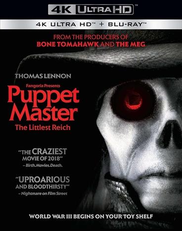 Puppet Master: The Littlest Reich (2018) 4K Ultra HD + Blu-ray