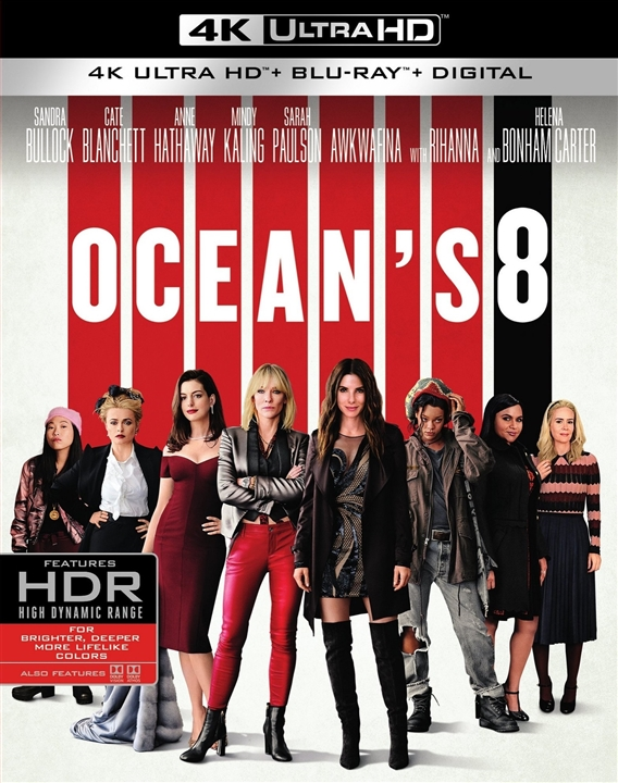 Oceans 8 (2018) 4K Ultra HD Blu-ray