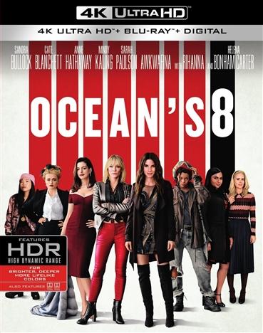 Oceans 8 (2018) 4K Ultra HD Blu-ray
