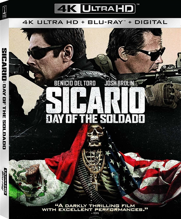 Sicario: Day of the Soldado (2018) 4K Ultra HD Blu-ray