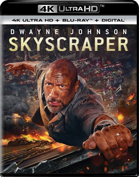Skyscraper (2018) 4K Ultra HD Blu-ray