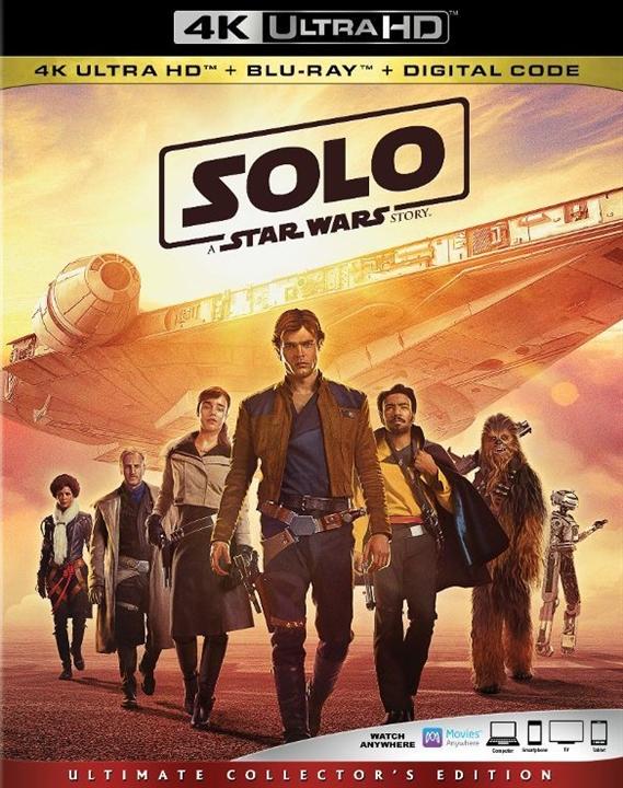 Solo: A Star Wars Story 4K (2018) Ultra HD Blu-ray