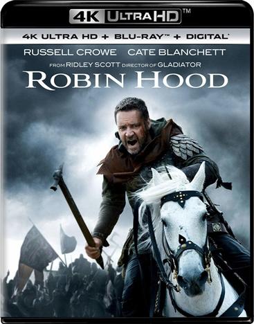 Robin Hood (2010) 4K Ultra HD Blu-ray