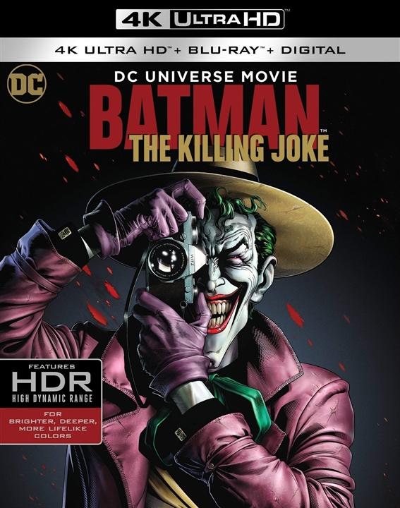 Batman: The Killing Joke 4K (2016) Ultra HD Blu-ray