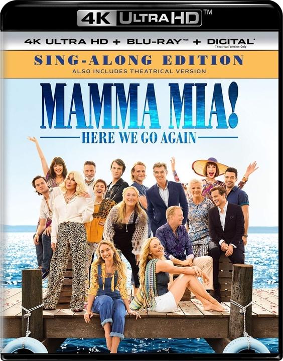 Mamma Mia 2 Here We Go Again (2018) 4K Ultra HD Blu-ray