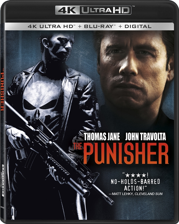 The Punisher (2004) 4K Ultra HD Blu-ray