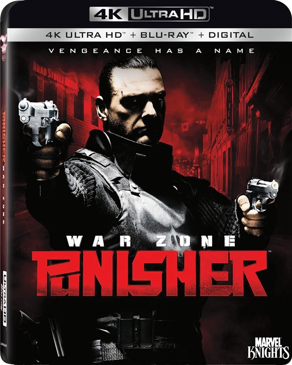 Punisher: War Zone (2008) 4K Ultra HD Blu-ray