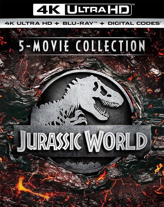 Jurassic World 5 Movie Collection (4K Ultra HD Blu-ray)