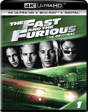 The Fast and the Furious 4K (2001) Ultra HD Blu-ray