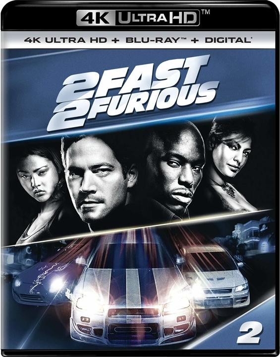 2 Fast 2 Furious 4K (2003) Ultra HD Blu-ray
