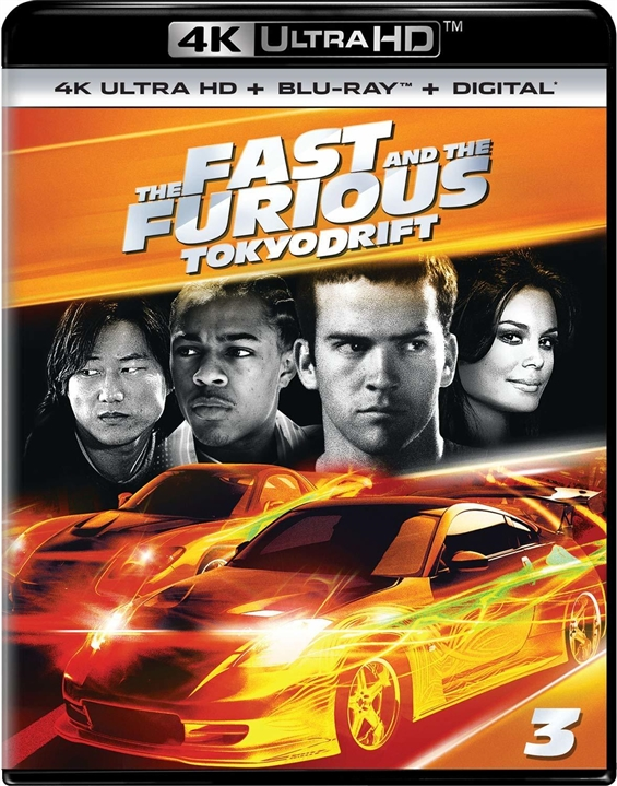 The Fast and the Furious: Tokyo Drift 4K (2006) Ultra HD Blu-ray