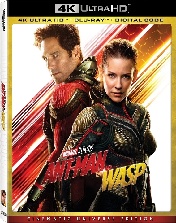Ant-Man and the Wasp 4K (2018) Ultra HD Blu-ray