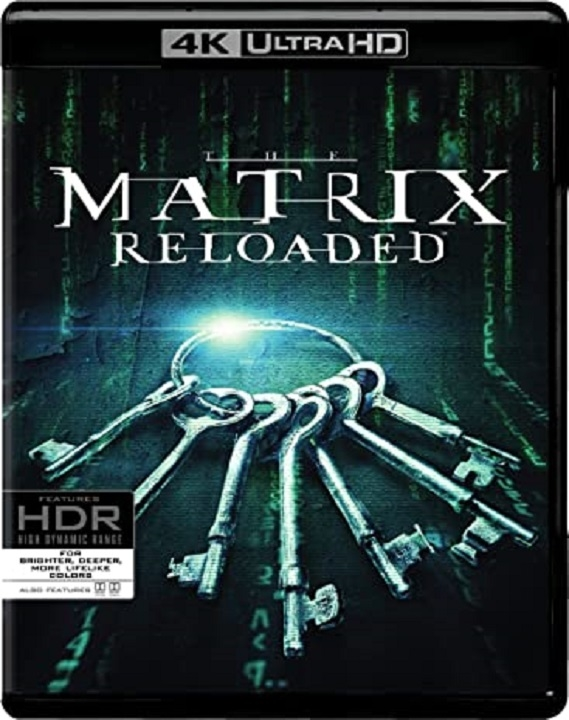 The Matrix 2: Reloaded 4K (2003) Ultra HD Blu-ray