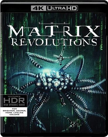 The Matrix 3: Revolutions 4K (2003) Ultra HD Blu-ray
