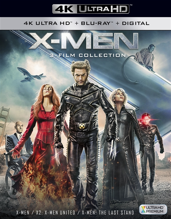 X-Men Trilogy 4K Ultra HD Blu-ray