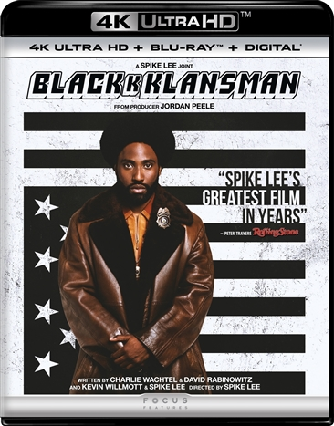 BlacKkKlansman 4K (2018) Ultra HD Blu-ray