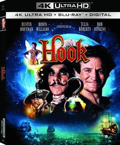 Hook 4K (1991) Ultra HD Blu-ray
