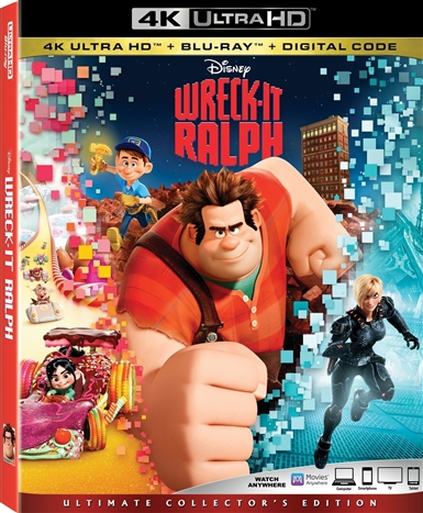 Wreck-It Ralph 4K (2012) Ultra HD Blu-ray