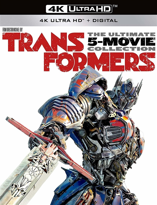 Transformers: The Ultimate Five Movie Collection 4K Ultra HD Blu-ray