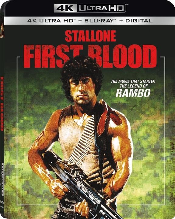 Rambo: First Blood 4K (1982) Ultra HD Blu-ray