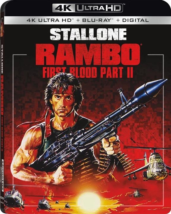 Rambo: First Blood Part 2 4K (1985) Ultra HD Blu-ray