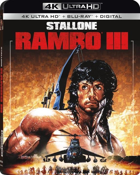 Rambo 3 4K (1988) Ultra HD Blu-ray
