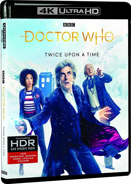 Doctor Who: Twice Upon a Time (TV) (2017) 4K Ultra HD Blu-ray