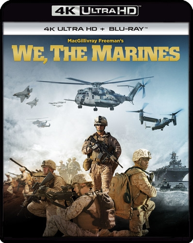 We, the Marines 4K (2017) Ultra HD Blu-ray