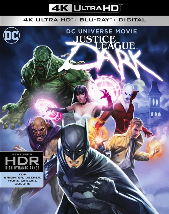 Justice League Dark 4K (2017) Ultra HD Blu-ray