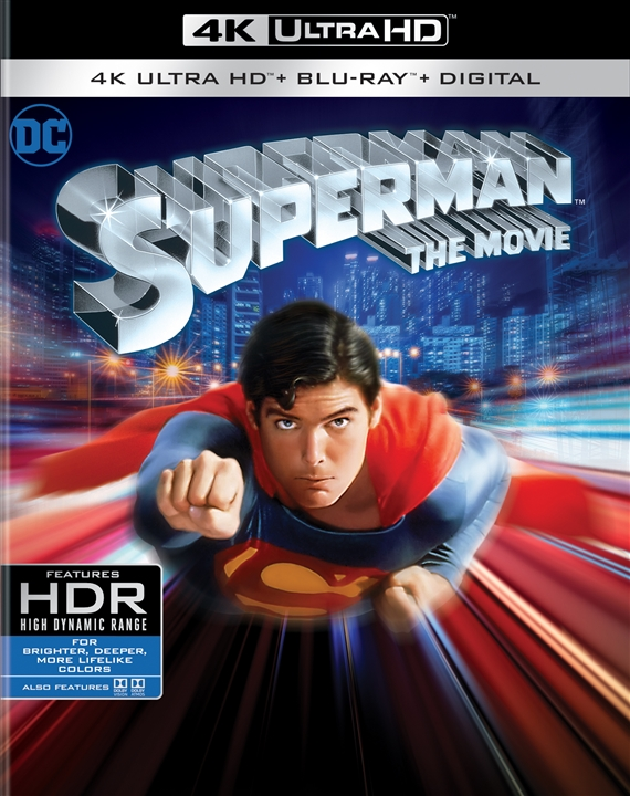 Superman: The Movie 4K (1978) Ultra HD Blu-ray