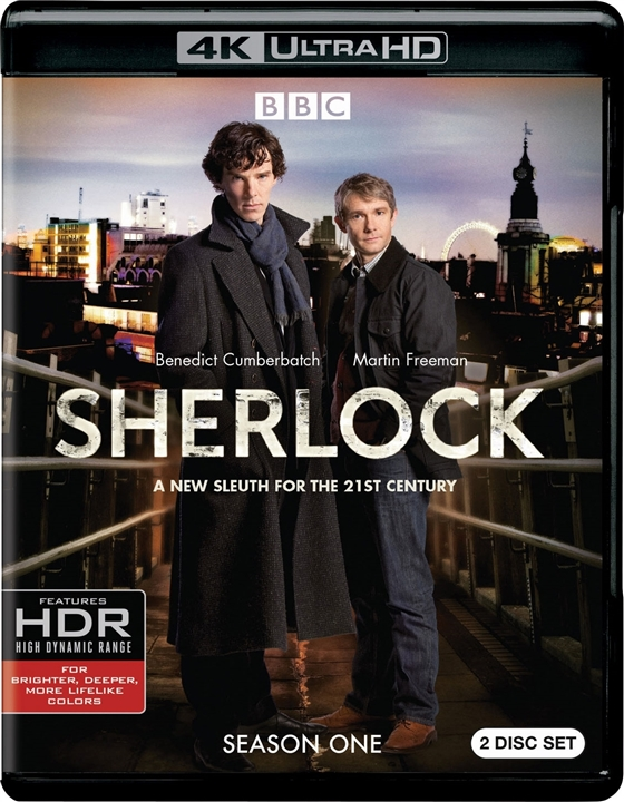 Sherlock: Season One 4K (2010) Ultra HD Blu-ray