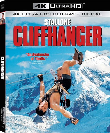 Cliffhanger 4K (1993) Ultra HD Blu-ray