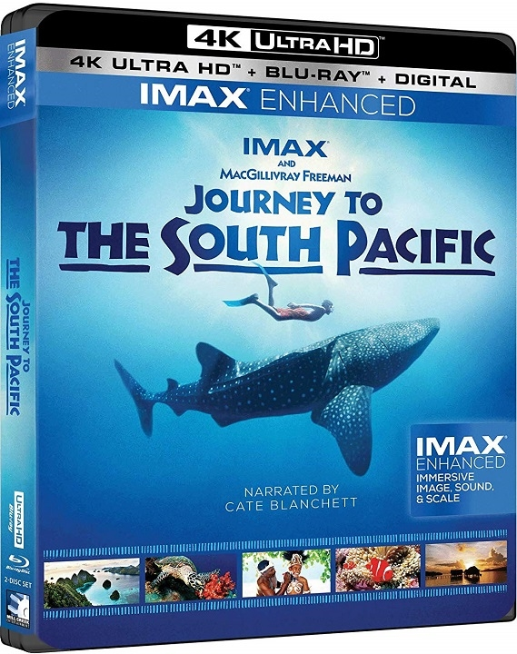 Journey to the South Pacific 4K (2018) Ultra HD Blu-ray