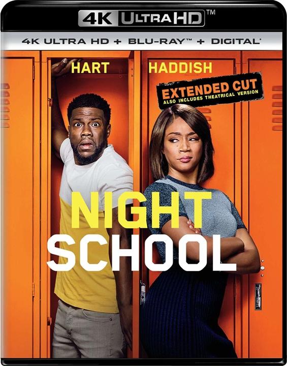 Night School 4K (2018) Ultra HD Blu-ray