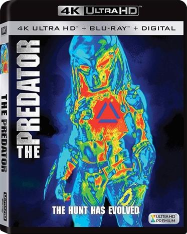 The Predator 4K (2018) Ultra HD Blu-ray