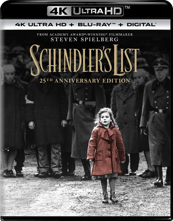 Schindlers List 4K (1993) Ultra HD Blu-ray