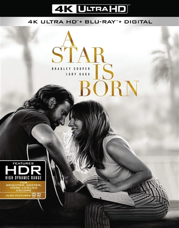 A Star Is Born 4K (2018) Ultra HD Blu-ray